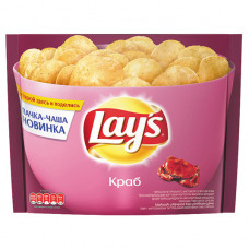Чипсы Lays Краб 240гр Пепсико