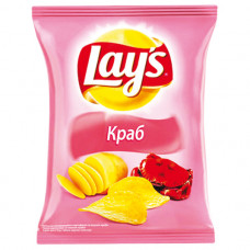 Чипсы Lays Краб 150гр Пепсико
